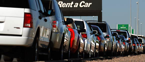Renting a car Using Your Debit Card Could Damage Credit Score